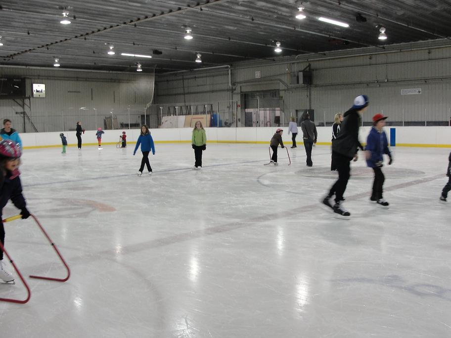 Public Skating at the Sports Area
