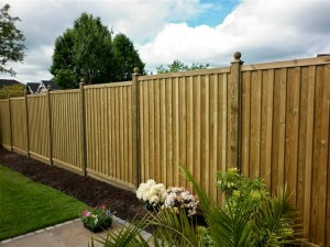 Chilham fence panels