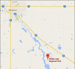 Nickle Lake Map