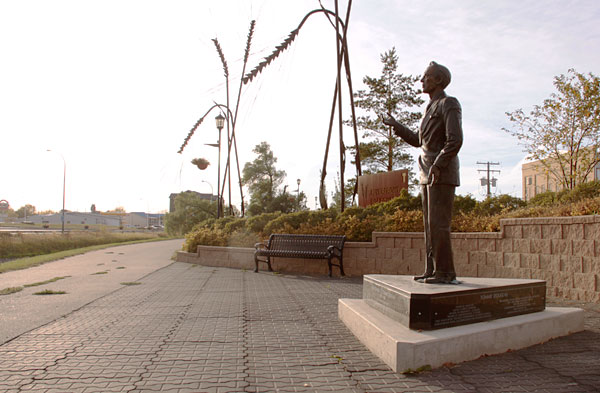ccTommy Douglas Sculpture