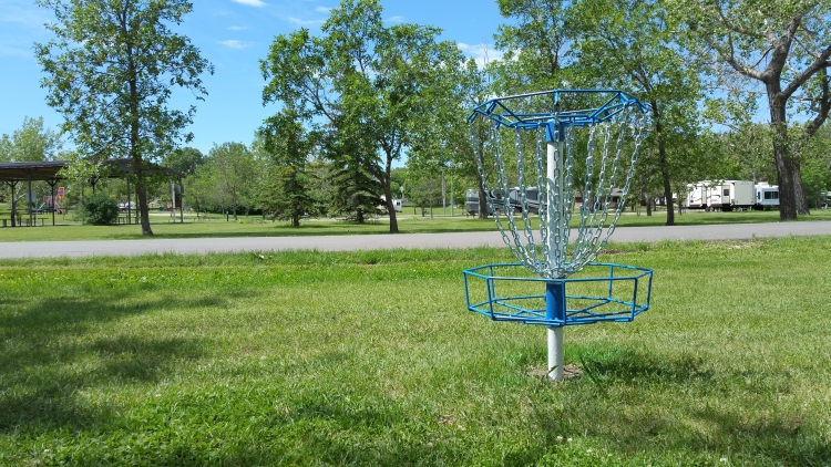 Disc Golf at River park