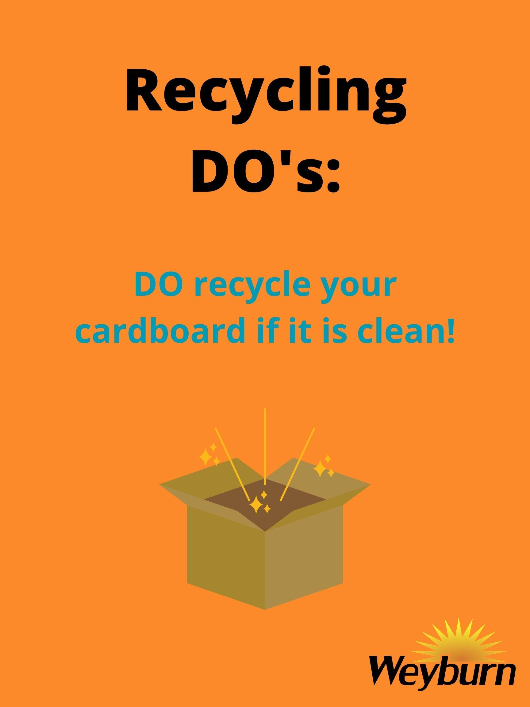 Recycling-DOs_Cardboard
