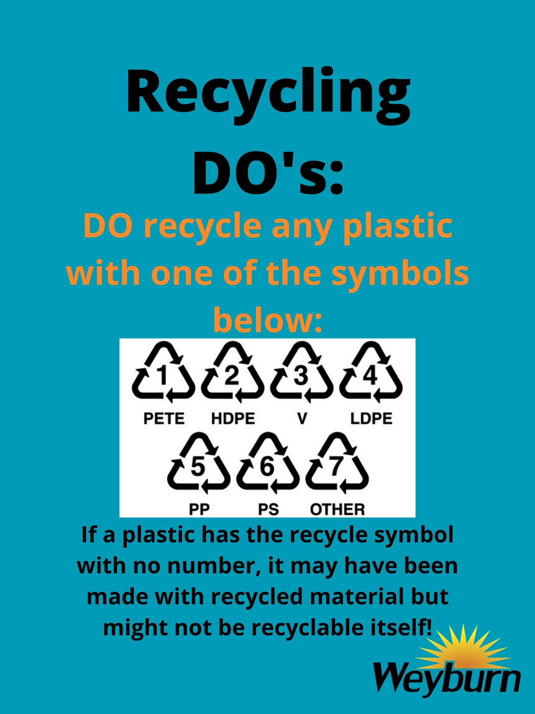 Recycling-DOs_Numbers