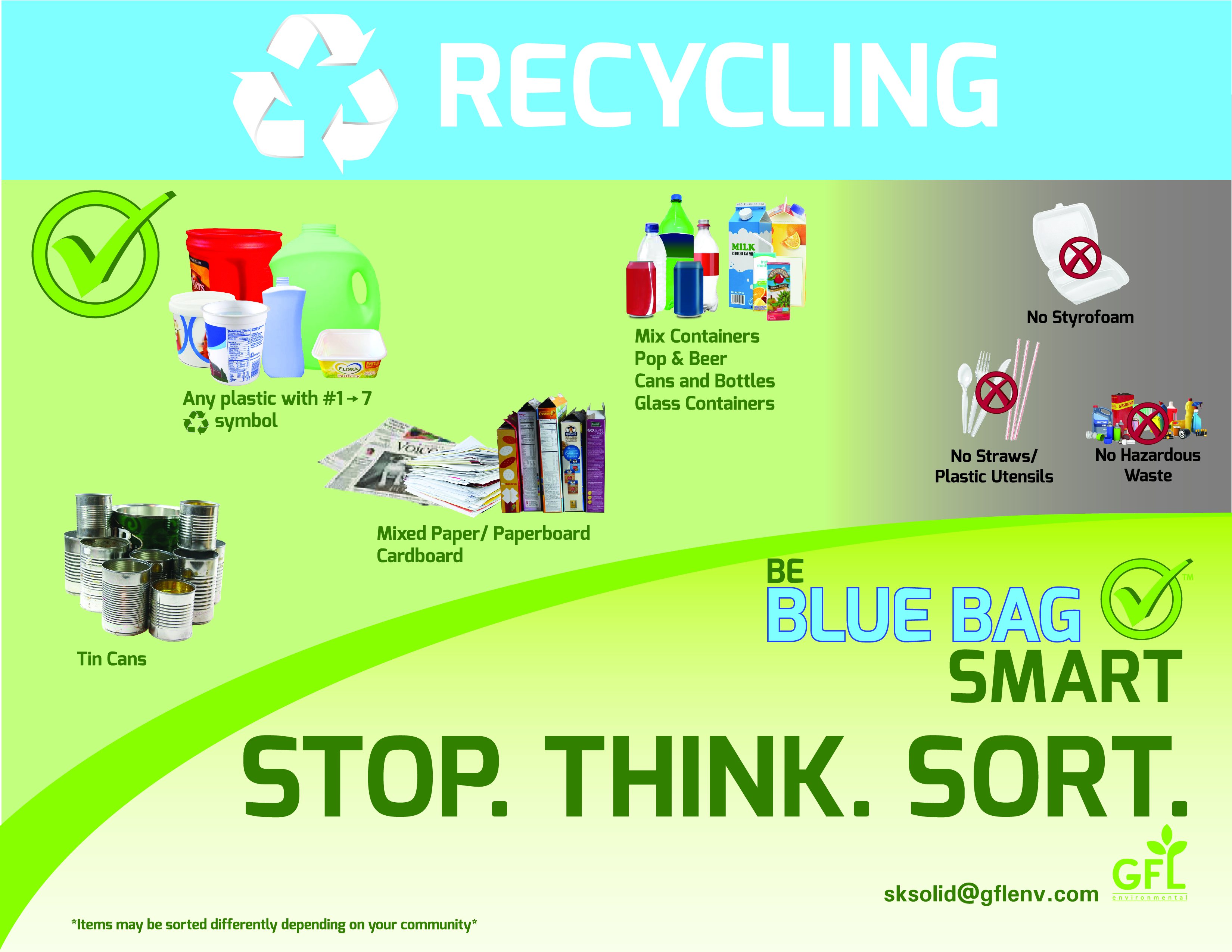 Refuse & Recycling Collection and Disposal - Weyburn