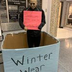 Weyburn Comprehensive School SCR Collecting Donations for the Salvation Army.
