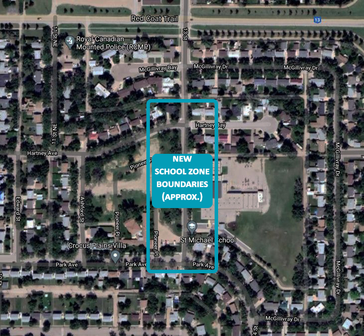 St. Michael school zone boundaries expanded on Oct. 26, 2020